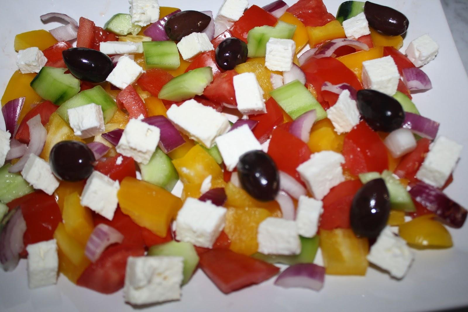La cuciniera moderna ricette estive l insalata greca for Ricette cucina estive
