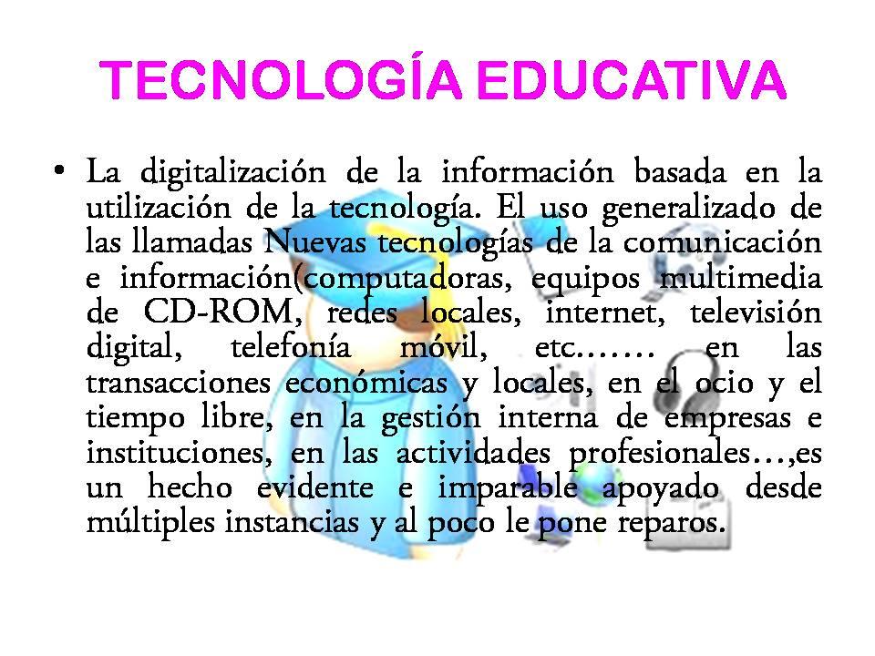 Clasificacion de material didactico tecnologia educativa