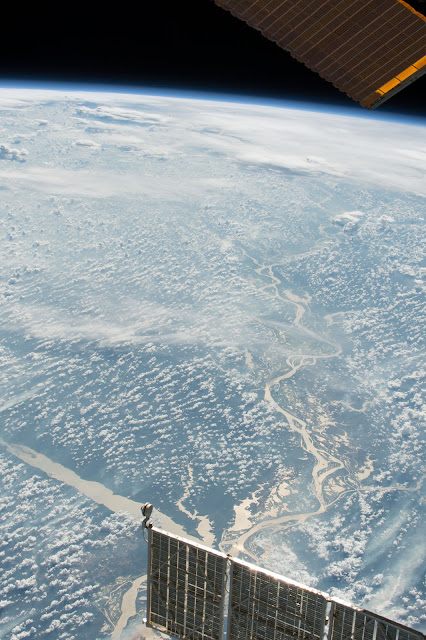 Amazon River seen from the International Space Station