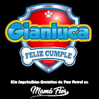 Logo de Paw Patrol: Gianluca