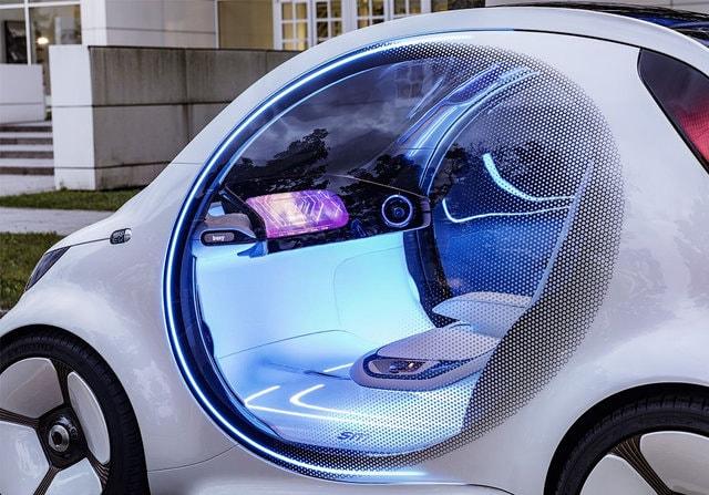 Машина Vision EQ Fortwo