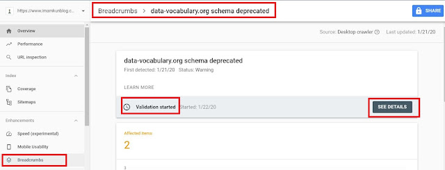 Cara Mengatasi data-vocabulary.org schema deprecated di Webmaster