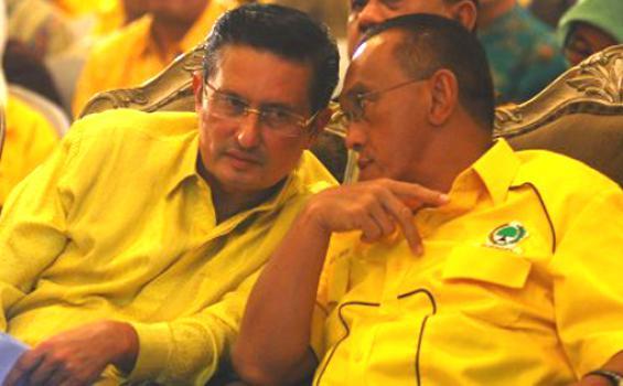 Gerindra Klaim Fadel Muhammad dan ARB Dukung Prabowo
