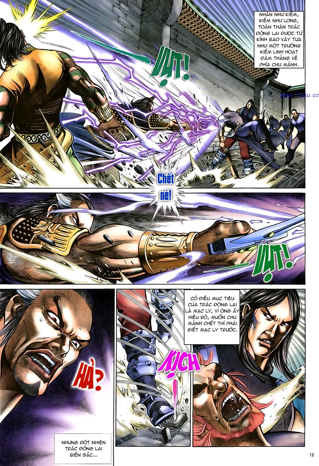 Anh hùng vô lệ Chap 23 trang 13