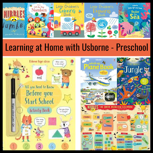 Learning at Home with Usborne - Preschool