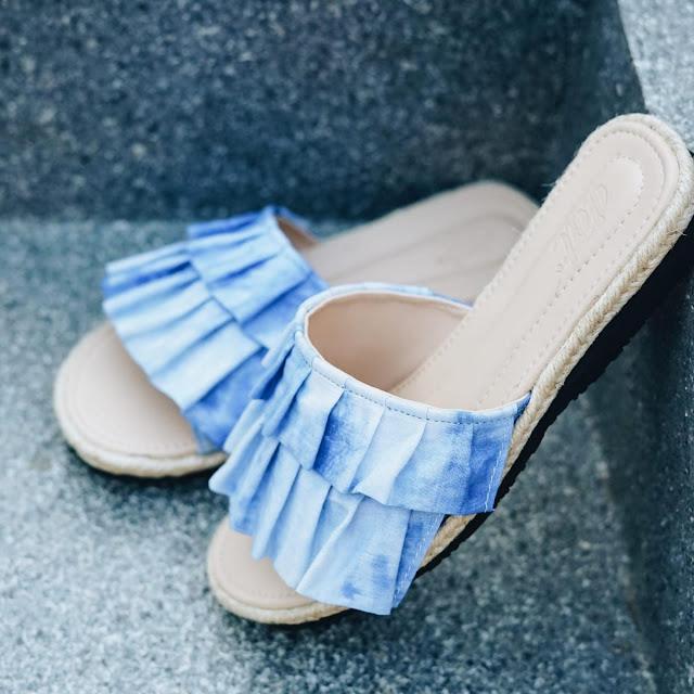 model sepatu wanita terbaru buatan tangan