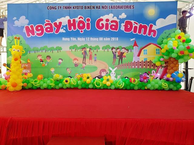 Tổ chức sự kiện tết thiếu nhi 1/6 - Trung Thu cho bé