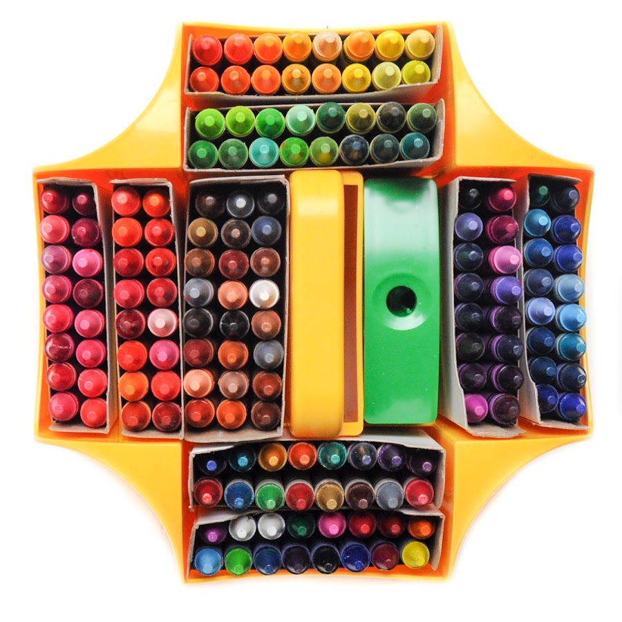Crayola 152 Count Ultimate Crayon Collection: What\'s Inside the Box ...