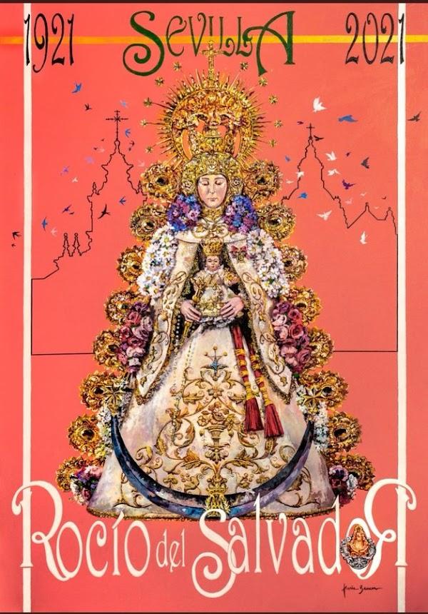 Cartel del Centenario del Rocío de Sevilla