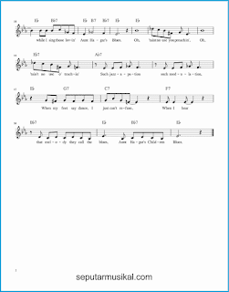 chord aunt hagar's blues 2 lagu jazz standar