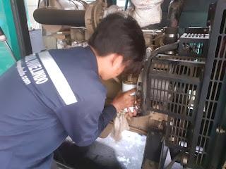 Service genset Tangerang