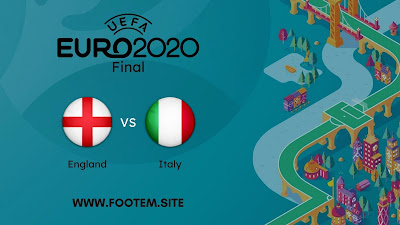 Italy vs England EURO Final Stage - Final