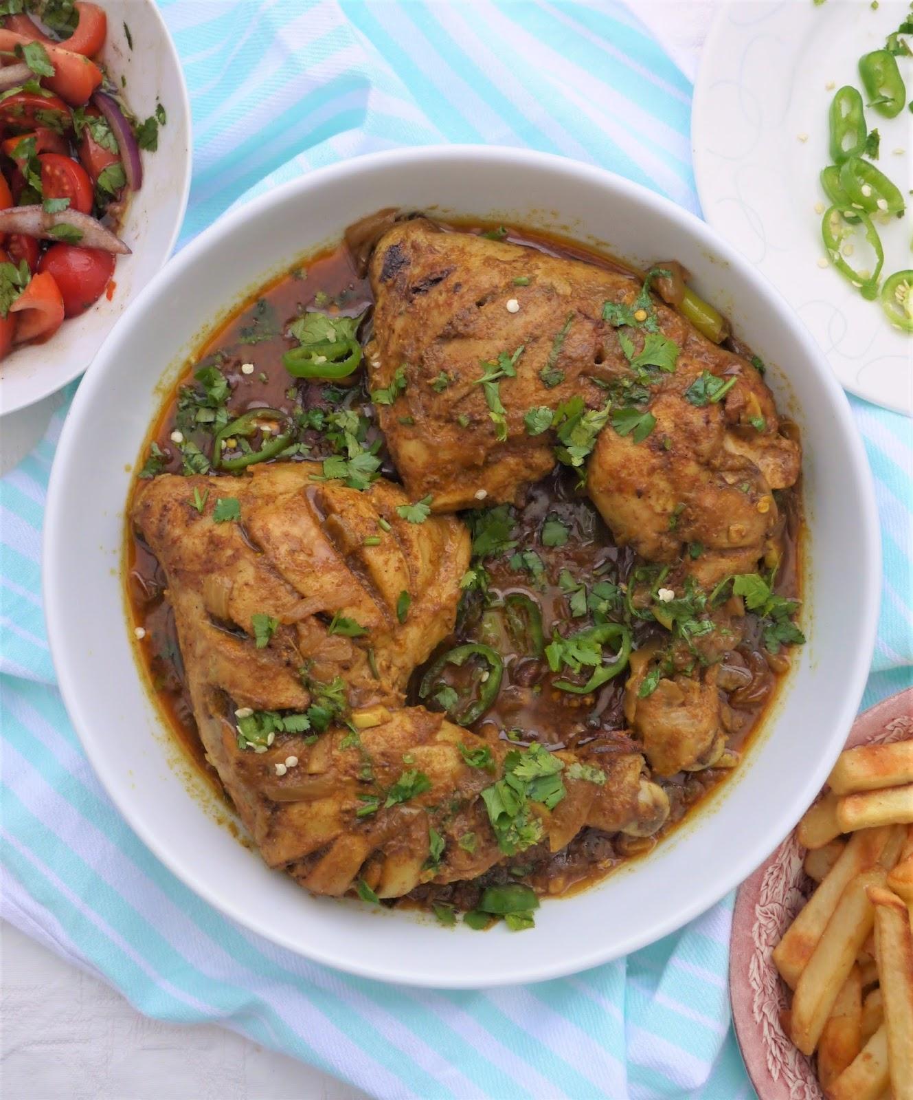 This Muslim Girl Bakes: Bengali-Style Masala Roast Chicken