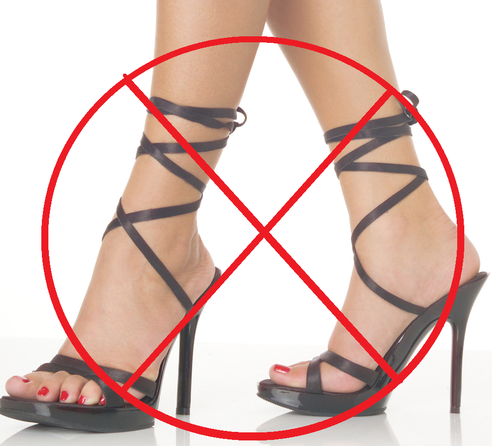 Apologise, fetish wearing stiletto heels absolutely assured
