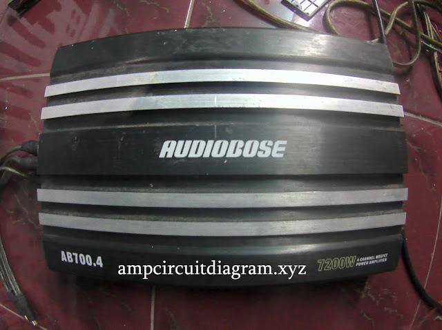 AUDIOBOSE Car Power Amplifier
