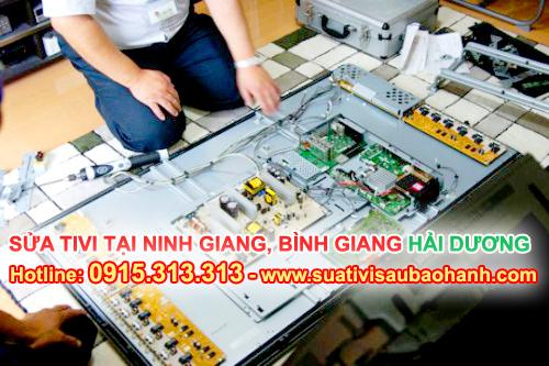 Sửa tivi tại Ninh Giang, Bình Giang Hải Dương