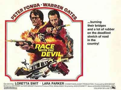 Carrera con el diablo (1975) / Poster