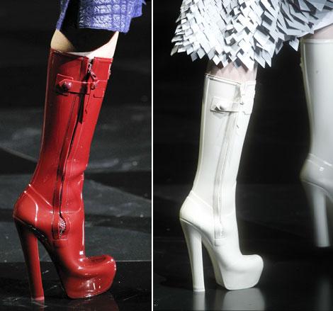 Winter High Heel Shoes