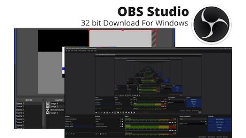 OBS Studio 32 bit Download For Windows