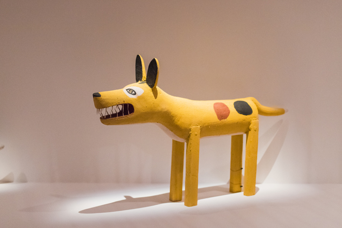 Garry Namponan Yellow-patched camp dog