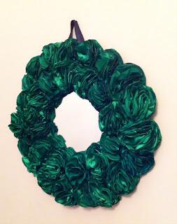 dekoratif ayna yeşil gül dekorasyon