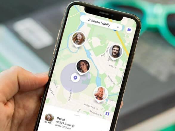 تطبيقات, مكتشف, المواقع, GPS, لتحديد, أماكن, أصدقائك, والعثور, عليهم
