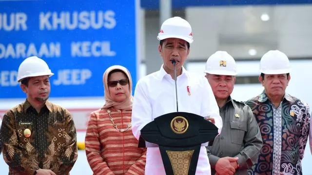 Jokowi Minta Menteri Cari Terobosan untuk Pembiayaan Tol Trans Sumatera