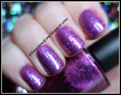 OPI ~ Grandma Kissed A Gaucho topped with Catrice ~ Conquer The Auroral