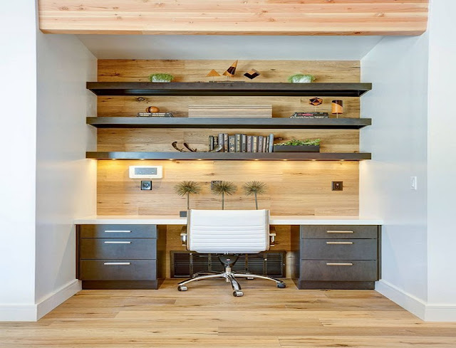 best custom home office furniture Vaughan Ontario with file cabinets design