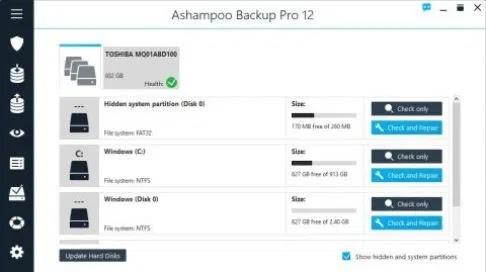 تحميل برنامج النسخ الإحتياطي Ashampoo Backup Pro 12.05