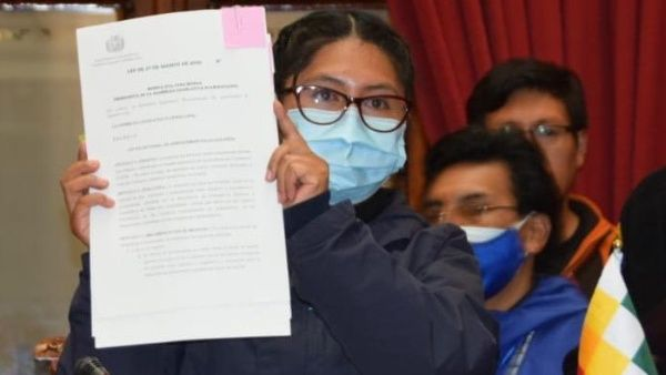 Senado boliviano promulga tres leyes sobre atención médica