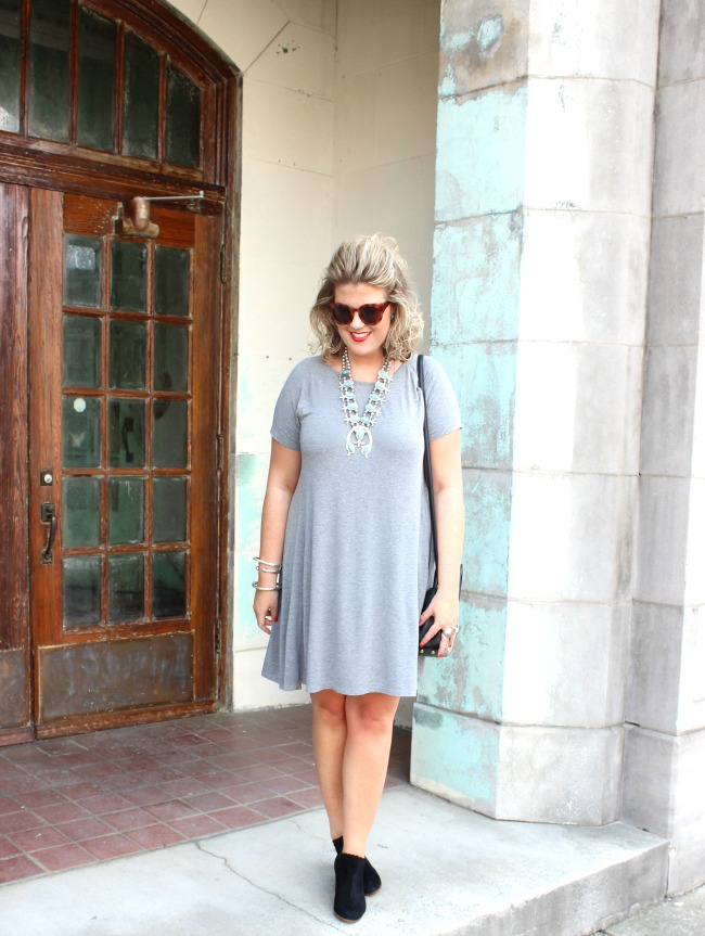 How To Style A Swing Dress For Fall