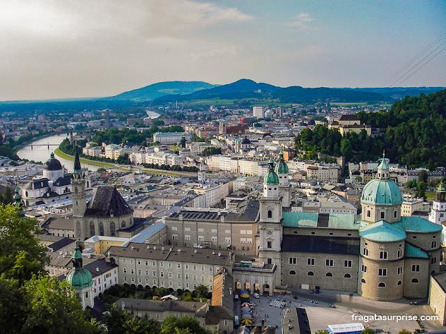 Salzburgo vista do Hohensalzburg