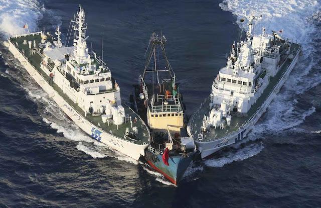 Guarda costeira japonesa intercepta pesqueiro chinês nas Senkaku