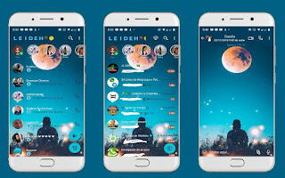 Moon 2 Theme For YOWhatsApp & Fouad WhatsApp By Leidiane