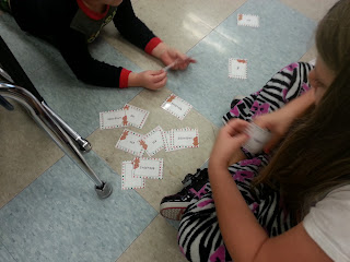 expanded notation- Holly Jolly Holiday Centers in Action