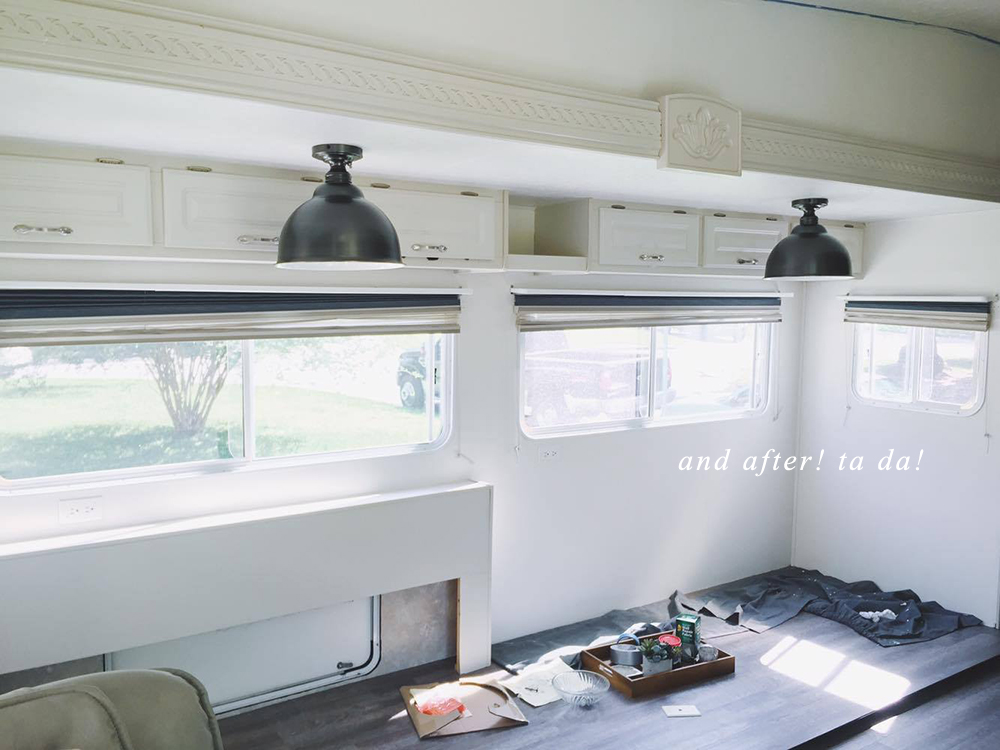 rv lighting makeover