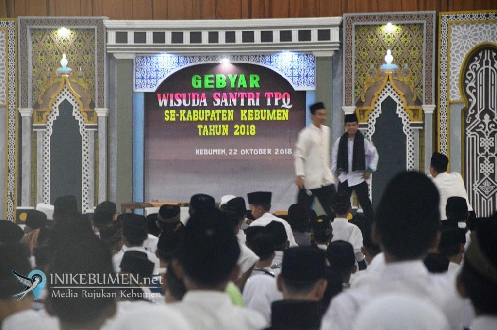 Peringati HSN, Seribu Santri TPQ di Kebumen Diwisuda
