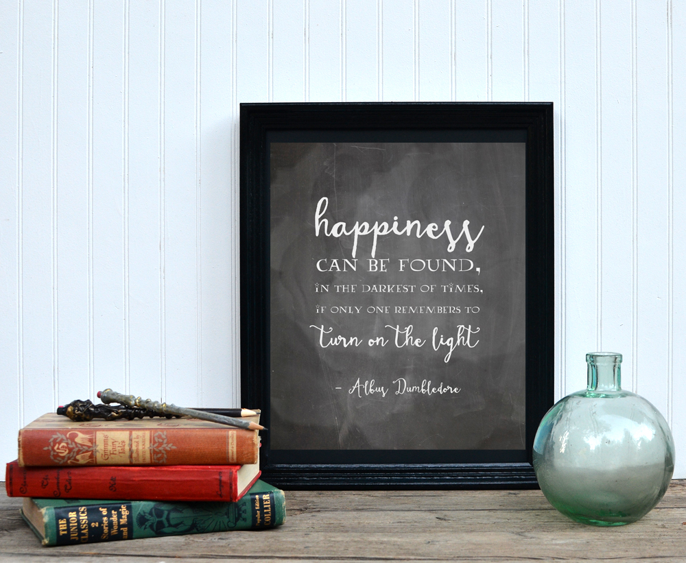 Happiness Can Be Found  || Free Printable