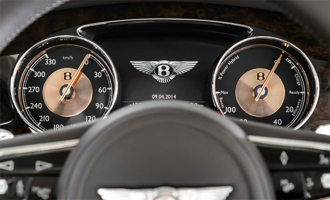 Bentley hybrid instruments