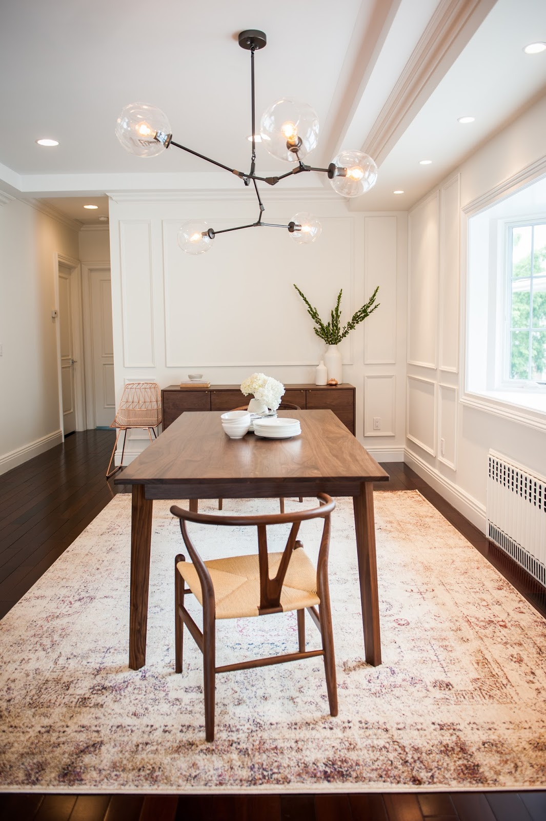 Anna S Modern Classic Dining Room Renovation Brooklyn Limestone