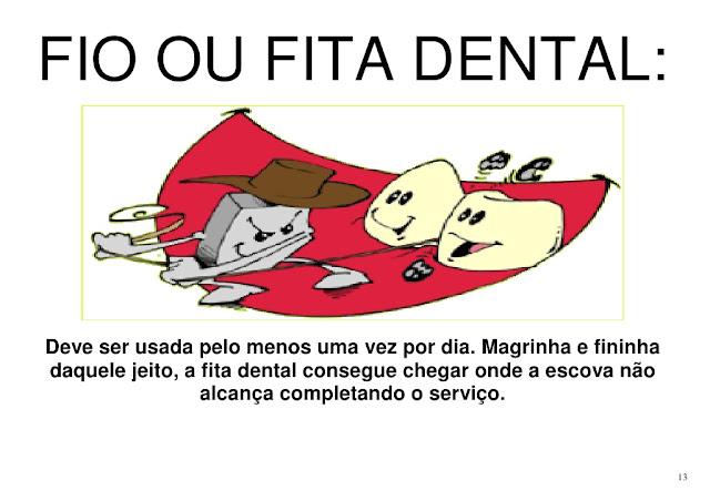 Cuidados com os dentes educação infantil