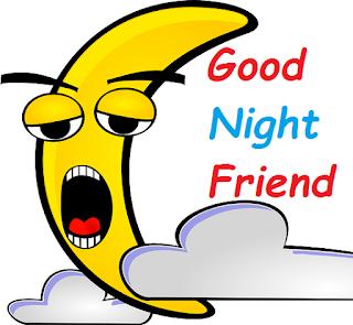 good night friend cartoon images
