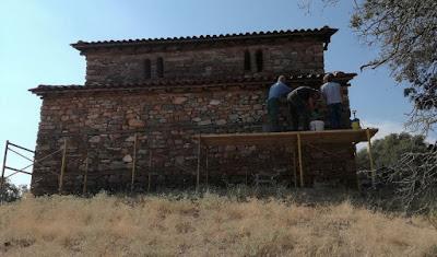 Εργασίες συντήρησης σε βυζαντινά μνημεία της Αιανής από την Εφορεία Αρχαιοτήτων Κοζάνης