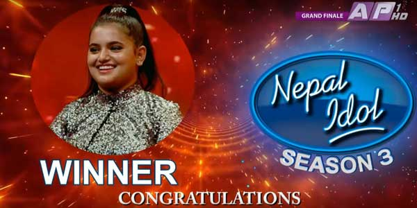 Nepal Idol Season 3 Winner