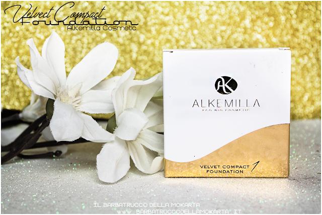comparazioni velvet compact foundation, fondotinta compatto in crema alkemilla