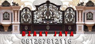 Desain Pintu Gerbang Klasik untuk rumah mewah