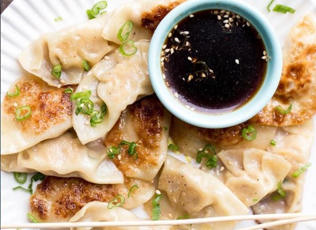GYOZA (Japanese Dumplings) #dinner #asian