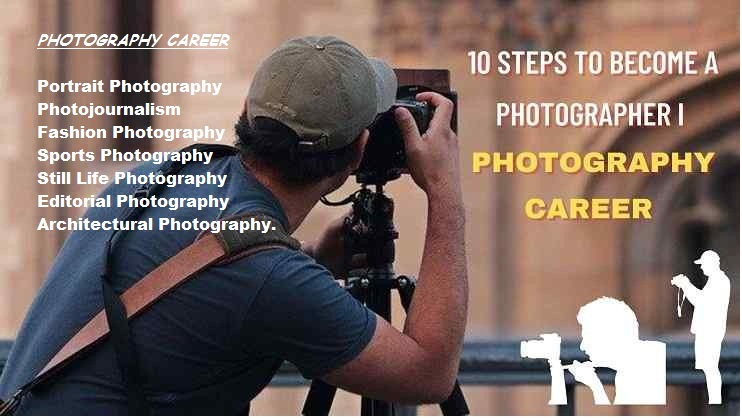 10 Steps to Become a Photographer I Photography Career