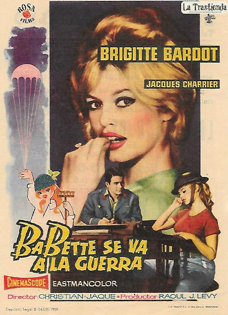 Babette se va a la Guerra - Programa de Cine - Brigitte Bardot - Jacques Charrier